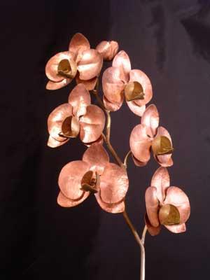 Bl tenzeit blumen aus metal for Blumen aus rostigem metall